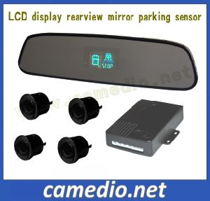 Rear View Mirror Parking Sensor with LCD Display for Cars pictures & photos