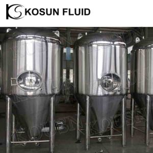 Stainless Steel Double Jacketed Cone Bottom Beer Fermenter Tank pictures & photos
