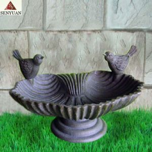 Resin Bird Feeder Sculpture (SR5480)