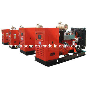 CE & ISO Approved Camda Gas Genset