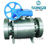 Trunnion Gear Ball Valve (SUGO NO. 501) pictures & photos