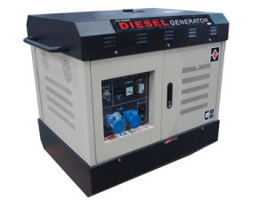 CE Approved Diesel Generator (Water-Cooled, Silent) pictures & photos