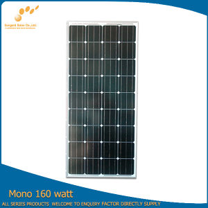 Solar Energy Products 160 Watts Solar Panels Price Manufacturers in China