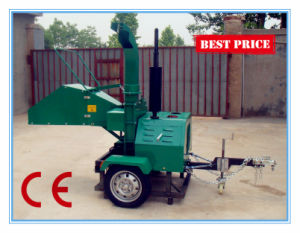 Diesel Wood Chipper Shredder, Trailer Mounted Wood Chipper (DH-40) pictures & photos