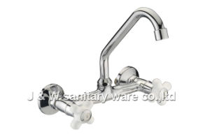 "8"" Wall Mount Kitchen Faucet (E-42)"