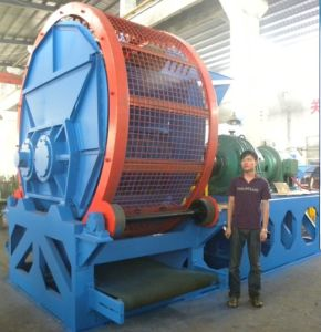 Waste Tire Rubber Crusher Shredder Machine pictures & photos