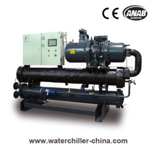 Water Cooled Low Temperature Screw Chiller for Beverage & Drink Industry pictures & photos
