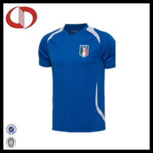 Wholesale Mans Logo Soccer Jersey with Cheap Price pictures & photos