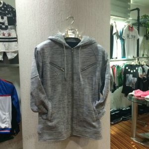Fashion Man Fleece Zip-up Hoodies with Pocket in Sport Wear Clothes Fw-8663 pictures & photos