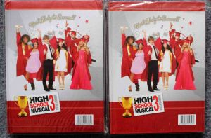 Singer Star Girls Hardcover Notebook