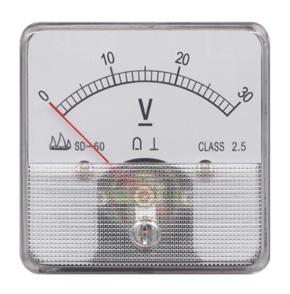 60 Moving Coil Instrument DC Voltmeter pictures & photos