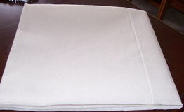 "CVC55/45 40s*40s 110/60 81"" Bleach White Textile Fabric Bed Sheet"