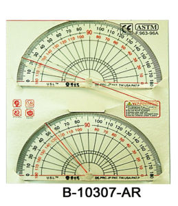 Educational Toy, Protractor, Measuring Machine, Compasses (B-10307-AR)