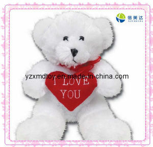 Plush Love Bear with Red Heart Soft Toy pictures & photos