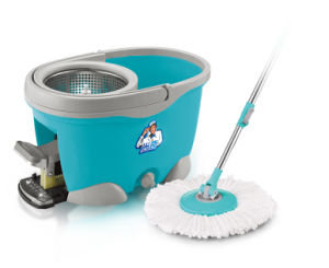 Hand Press and Foot Pedal Magic Mop pictures & photos