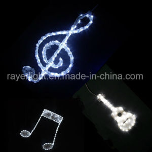 LED Christmas Musical Figure Motif Colorful Decoration Light pictures & photos