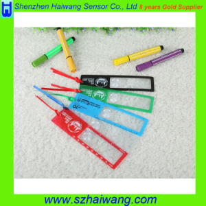 Hw-805 Plastic Bookmark Ruler Magnifier Fresnel Lens 3X PVC Magnifying Sheet pictures & photos