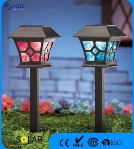 Plastic Solar Garden Light Stake Light pictures & photos