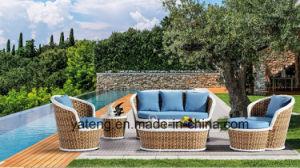 2017new Design Hotel Wicker Patio Garden Furniture Sofa Set Using Outdoor & Garden & Patio (YT1050) pictures & photos