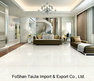 Buliding Material 600X600mm White Tulip Porcelain Polished Tile (TJ6503) pictures & photos