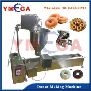 Good Performance Electric Type Small Donut Machine Automatic Operation pictures & photos