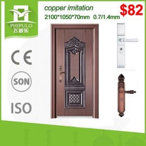 Cheap Price Safety Entrance Iron Door pictures & photos