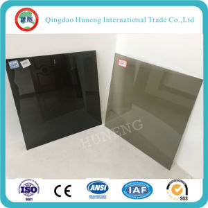 4-8mm Dark Grey Tinted Float Glass/Colored Float Glass pictures & photos