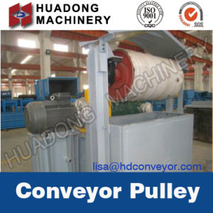 Durable Rubber-Lagged Heavy Pulley for Belt Conveyor pictures & photos