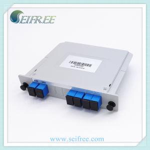 100g 4CH Fiber Optic DWDM, Mux / Demux Single Fiber Module Box with Upg Port pictures & photos