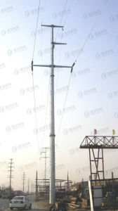 Customed Steel Structure Power Transmission Tower pictures & photos