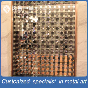 New Design Customized Stainless Steel Wine Display Rack for Club pictures & photos