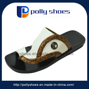 Men New Design Model Saudi Arabia Slipper Made in China pictures & photos