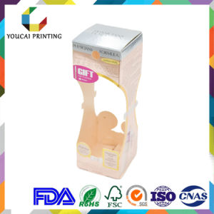 Wholesale Cheap High Quality Cubic Art Paper Packing Box for Tooth Paste Silver Hot Stamping Logo Glossy Lamination pictures & photos