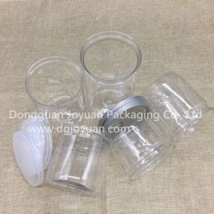 Food Grade Transparent Plastic Pet Easy Open Can pictures & photos