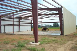 Pre-Engineered Corrugated Metal Sheet Steel Workshop Plant Project Warehouse Building pictures & photos