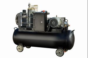 Compact Screw Air Compressor with Air Tank pictures & photos