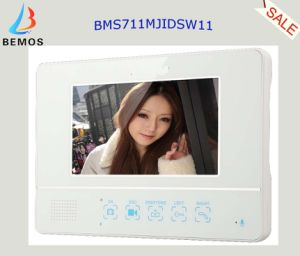"7"" Color Wireless Video Door Phone Doorbell with ID Card and Remote Control pictures & photos"