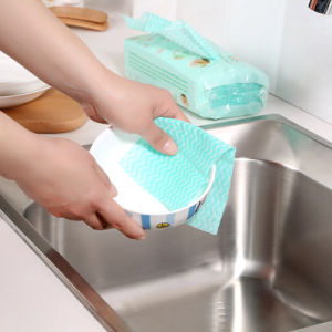 Super Water Absorption Heavy Duty Wipes/Cleaning Cloth/Nonwoven Multipurpose Perforated Wipes pictures & photos