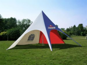 High Quality Anodized Aluminium Star Shelter for Event pictures & photos