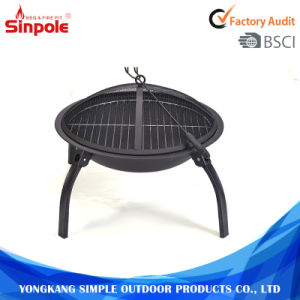 Outdoor Steel Round Portable Outdoor BBQ Charcoal Fire Pit pictures & photos