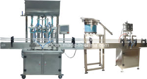 Capping Machine+Paste Filler/Paste Filling Machine From China pictures & photos