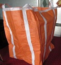 Two Ton Loading Orange Big Bag FIBC with Four Loops 10′′ High / Fully Belted pictures & photos
