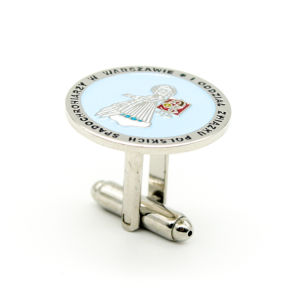 Wholesale Customized Hard Enamel Brass Cufflink pictures & photos