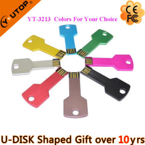 Hot Selling Key Gifts USB Flash Drive (YT-3213-04) pictures & photos