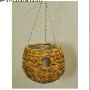 Hyacinth Ball Hanging Basket with Holes pictures & photos