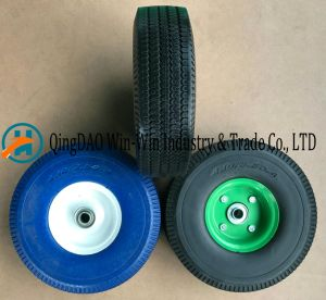 PU Foam Wheel Used on Trolley Wheel (4.10/3.50-4) pictures & photos