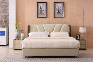 New Modern Design Home Furniture Bed (9558) pictures & photos