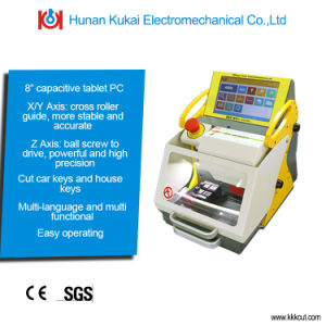 High Quality Hot Sale Portable Fully Automatic Car Key Cutting Machine Key Duplicating Machine Sec-E9 with Ce/SGS Approved pictures & photos