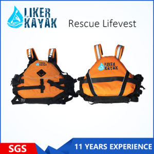 High Quality 400d Terylene Oxford Textile Rescue Life Vest/Life Jacket/Inflatabl Lifevest pictures & photos