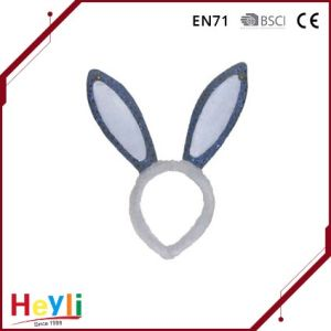 2017 Hot Selling Polyester Cute Bunny Rabbit Ears Headbands pictures & photos